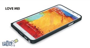 LOVE MEI Alu tanki bumper Galaxy Note III N9005 u raznim bojama