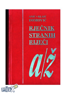 Anić rječnik pdf