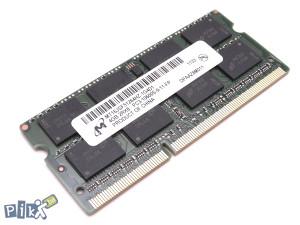 4GB DDR3 Micron PC3-10600 1333 MHz Sodimm