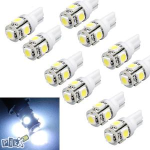 LED SMD T10 w5w ubodne sijalice bijele