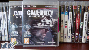 PS3, Call of Duty: Ghosts
