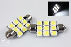 LED smd cjevaste sijalice 31 mm za unutrasnjost