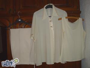 Komplet 3-djelni...hlače-majica-tunika