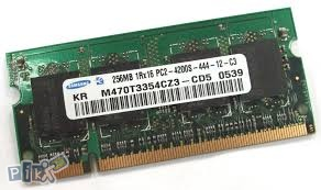 DDR2 256MB SO-DIMM paket 10 kom.