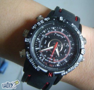 Špijunski rucni sat 4GB sa kamerom spy watch