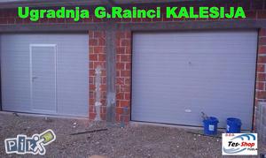 Garazna vrata + vrata u vratima sekciona