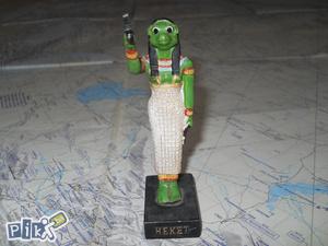 Egipatska figura Heket