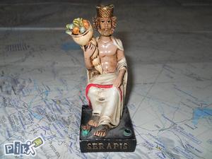 Egipatska figura Serapis
