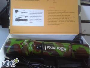Police Baterija 8000W maskirna