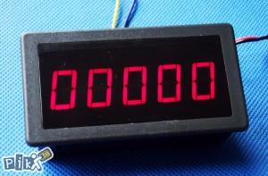 Digitalni brojač: impulsa, vremena, metara max. 99999