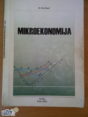 Mikroekonomija- Reuf Kapić