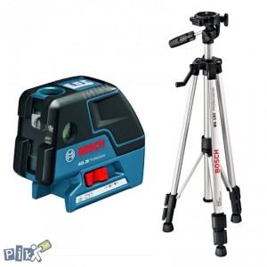 BOSCH točkasti laser GCL 25 + BS 150 Professional