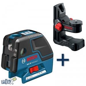 BOSCH točkasti laser GCL 25 + BM 1 Professional