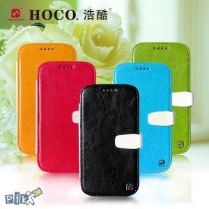 HOCO QS kožna futrola za Galaxy S4 crna