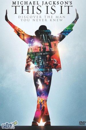 "Sony Blu-Ray medij ""Michael Jackson - This is it"" film"