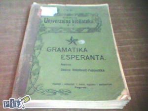 Gramatika esperanta/Danica Bedeković-Pobjenička 1909.g