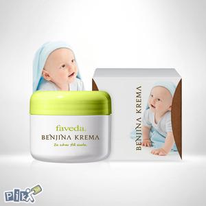 Benjina krema - za bebe