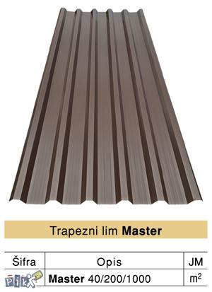 Trapezni lim MASTER 40/200/1000
