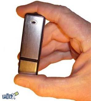 Snimac razgovora u obliku USB spijunski spy stick 8GB