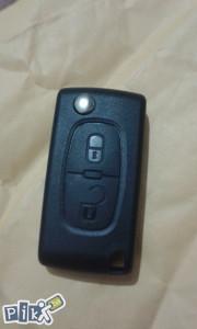 PEUGEOT 207 307 308 Citroen oklop kljuca dva dugmeta