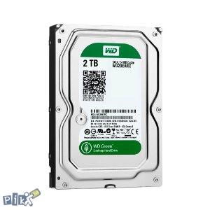 """Nov HDD za PC 3,5"""" 2TB/64MB kesh WD GREEN"""