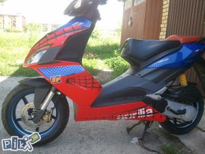 aprilia skuter sr 50 ( aerox, speedfight...)