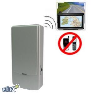 Blokator GSM i GPS signala mobitela spy jammer 433Mhz