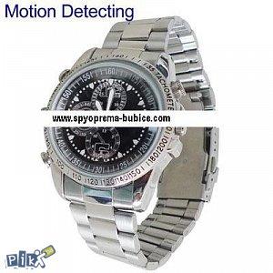 Špijunski sat sa kamerom HD metalni spy sat