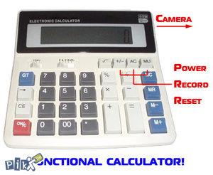 Špijunska kamera digitron kalkulator