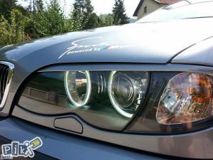 BMW 3 E46 obrve za farove plastika ** NOVO **