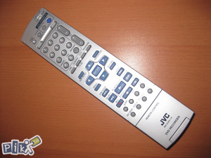 JVC daljinski dvd recorder player