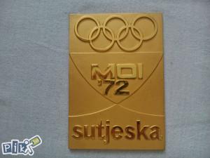Plaketa Male olimpijske igre