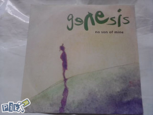 Genesis ‎– No Son Of Mine /Living Forever