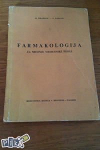 Farmakologija / za srednje medicinske škole