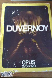 Duvernoy / note / muzika