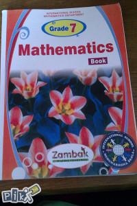 Mathematics book / matematika , engleski