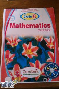 Mathematics course book / matematika , engleski