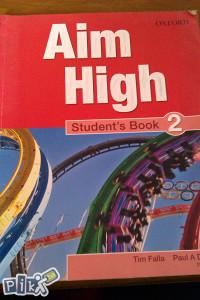 Oxford / Aim High / students book 2 / engleski