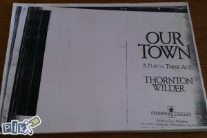 Our town / Thornton Wilder / engleski