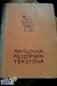 Antologija filozofskih tekstova / filozofija