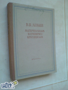 V. I. L. Lenjin, Materijalizam i empiriokriticizam