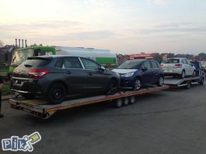 Prikolica za prevoz dva auta FIT-ZEL duo 35-20