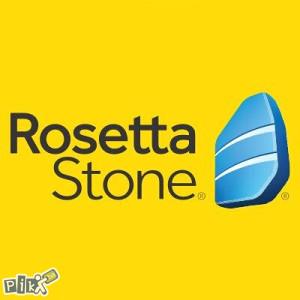 Rosseta stone - Program za interaktivno učenje jezika.