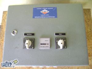 Ormar za struju sa digitalnim satom