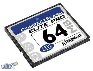 AVL- COMPACT FLASH CARD 64 MB