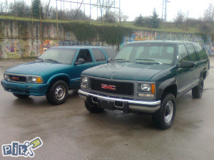 GMC SUBURBAN I JIMMY  TERENAC JEEP  4X4