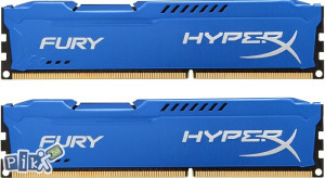 RAM 8GB (2X4GB) Hyper X Fury KINGSTON (2013)