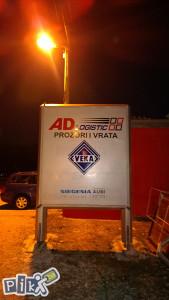 PROZORI-VRATA-ROLETNE VEKA,Ad logistic Mostar-Sarajevo