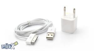 Punjac i USB kabal iPhone iPod iPad 3/4/5 6 s mobitel