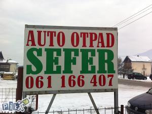 061 166 407 AUTO OTPAD SEFER KISELJAK
